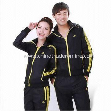 Yoga Clothing, Can used as Fitness/Leisure Wear, Ideal for Youth, Available in Various Colors