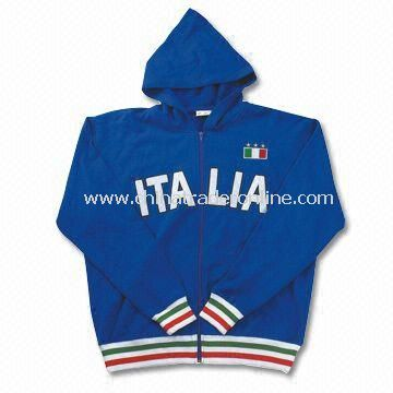Italia Mens Sweatshirt with Hood
