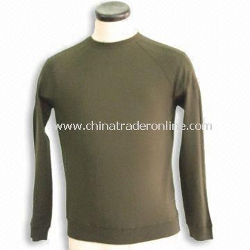 Mens Sweater, Made of 100% Merino Wool, Available in Various Sizes