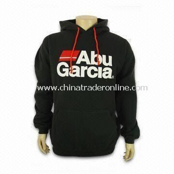 Mens Sweater, Made of 280gsm CVC Material, Customized Logos Accepted