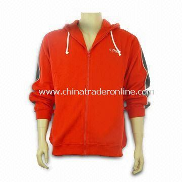 Sweatshirt, Made of 80% Cotton and 20% Spandex, Various Colors are Available