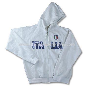 White Mens Sweatshirt, Made of TC Fabric