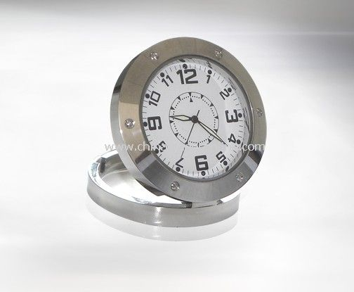 Hidden Table Clock DVR