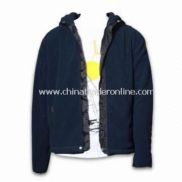 Mens Fashionable Polar Fleece Sweater, Made of 100% Polyester