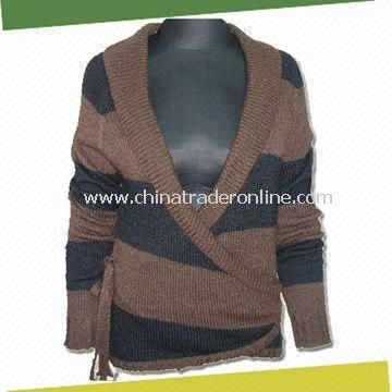 Womens knitted Sweaters, Made of 100% Acrylic