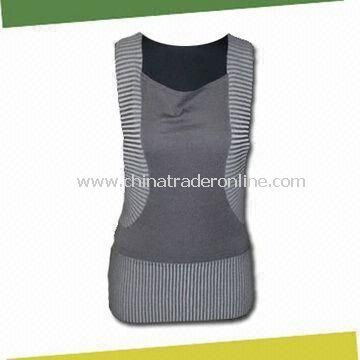 Womens Tank Top, Made of 80% Rayon and 20% Nylon