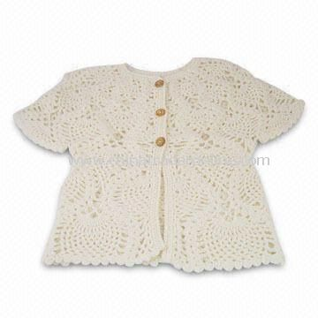 Childrens AC/WO Jacquard Knit Sweater with Hood