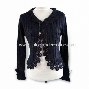 Комментарий: вязаные женские свитера со схемами.