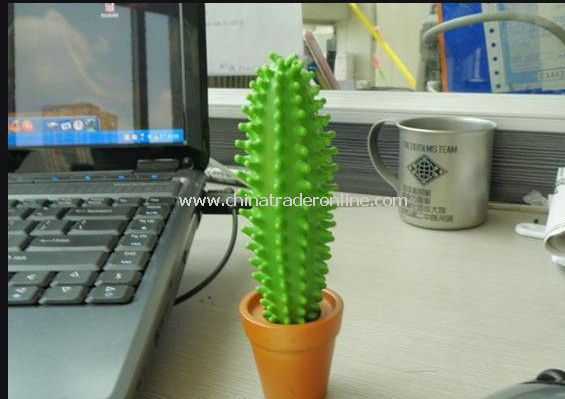 3pcs/lot Cactus Pen Rubber Potted Plant Spike Fred New