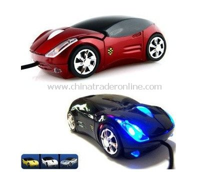 HOT! 50pcs/lot novelty gadget sports car optical mouse, gift USB mouse,fancy computer mouse