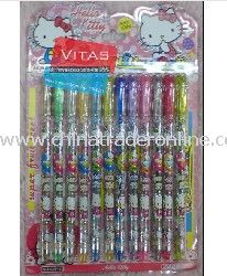 Hotsale! Hello Kitty 12-Color Glitter Pen