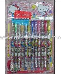 Hotsale! Hello Kitty 12-Color Glitter Pen