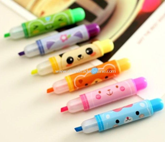 Hotsale! Japan-korea creative products/Cartoon Markers Pens/Lovely nite writer pen/Gift pen
