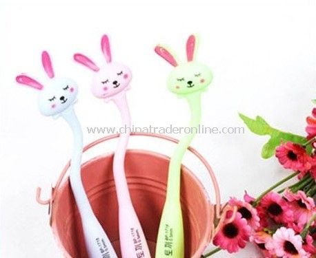 lovely rabbit slender ball-point pen schoolchildren ball-point pen creative rubber pen