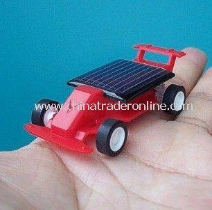Mini Solar Powered Robot Racing Racer Car Toy Gadget