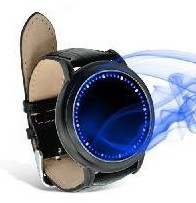 New ARRIVED LED Wrist Watch,Abyss Lite - Japanese Inspired Blue LED Touchscreen Watch , Touchscreen LED Watch