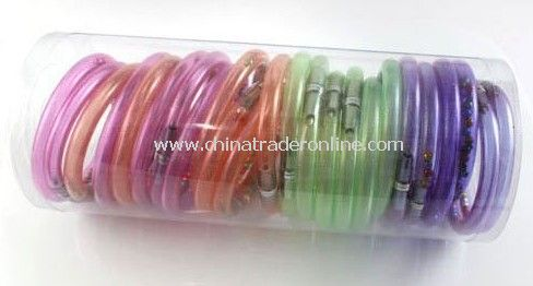 novelty wrist pen, transparent Bracelet ballpen