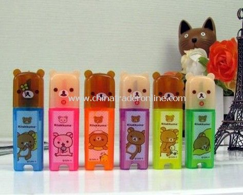 Rilakkuma Bear Color Highlighter Pen Pencil Office Stationery--Christmas Gift Novelty Toy