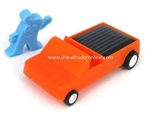 Solar Gadgets,ABS Plastic Solar Toy Car with Low Power Consumption Micro-motor