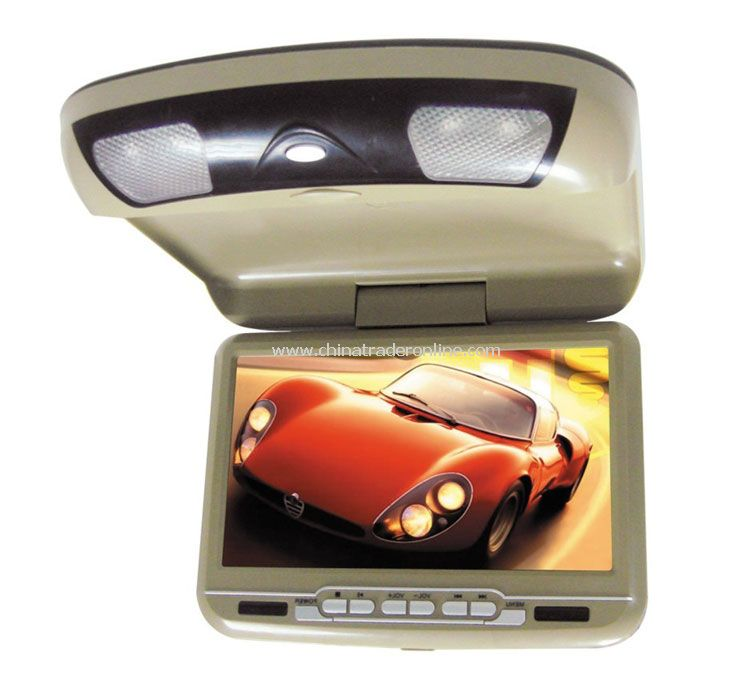 10.4-inch Roof Mount DVD player with 3-in-1 Card Reader