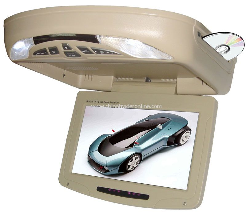 10 inch Flip down monitor DVD Player + IR + FM + TV Function