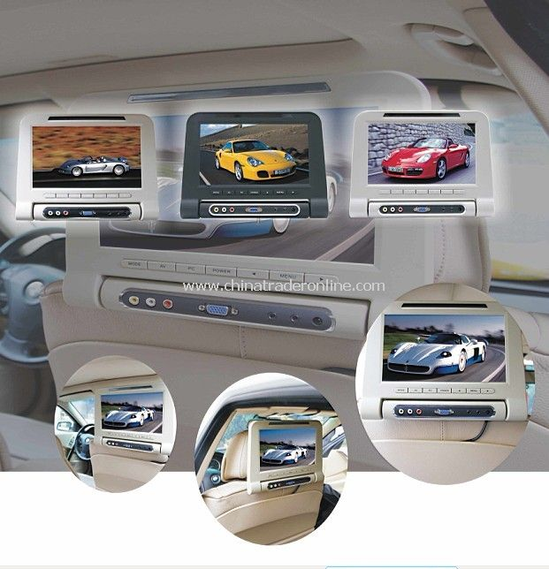 9 Inch LCD Monitor for In-Car Headrest (Hanging-type)