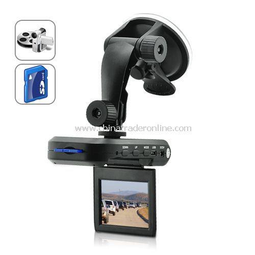 Car DVR with 2.5 Inch LCD +Motion Detection