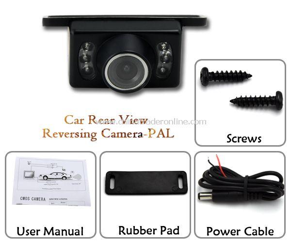 Car Rear View Reversing Camera-PAL (Waterproof)