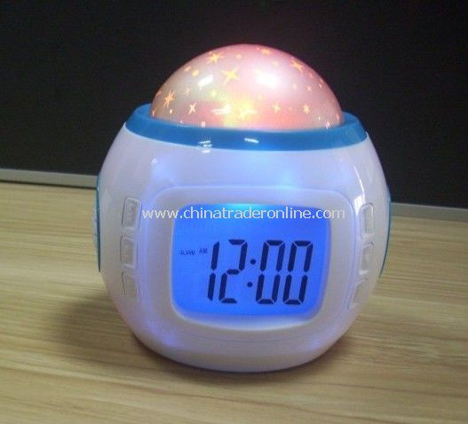 flashing alarm clock gifts alarm clock projector clock