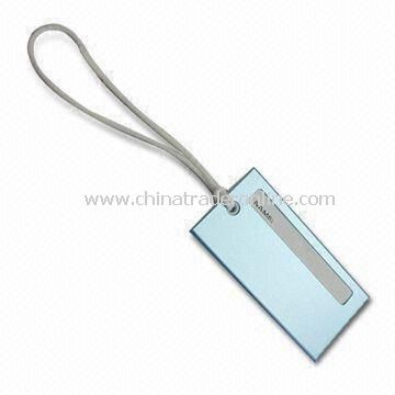 Luggage Tag, Made of Metal, Customized Designs and Colors Accepted