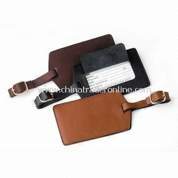 Luggage Tag, Made of Natural Rubber and Plastic Strap, Suitable for Promotional Gifts
