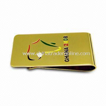 Money Clip, Customized Designs are Welcome, Suitable for Promotions, Gift, and Souvenirs