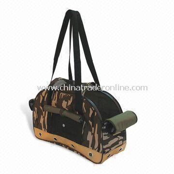 Pet Carrier Bag with One Ends to Provides Ample Air Circulation, Measures 48cm
