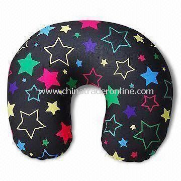 Travel Pillow Cover, Measuring 38 x 26cm