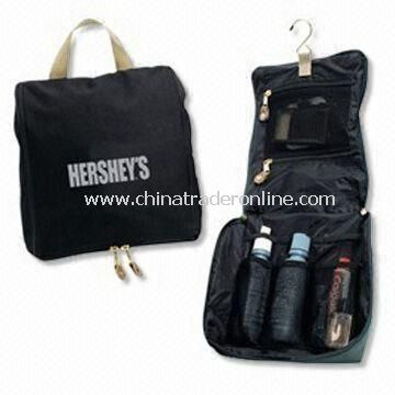 Utility Travel Hanging Toiletry Kit, OEM Orders are Welcome, Customized Designs are Accepted