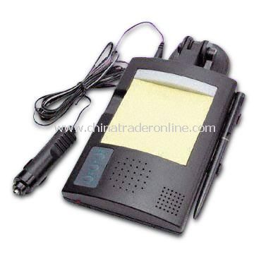 Auto Voice Recorder with Notepad and Back Light