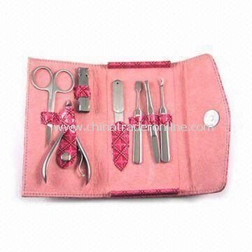 Beauty Kit, Made of Stainless Steel, Ideal for Promotional or Business Gifts