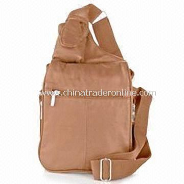 Buxton Bag with 22 Inches Adjustable Strap and Zipper Compartments