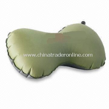 Inflatable Travel Pillow, Made of PVC, Convenient to Carry