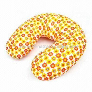Neck Pillow for Travel Use, with EPS Inside, Accepts Customized Shapes