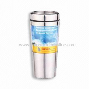 New AS Material Travel Mug, Available in Capacity of 16oz from China