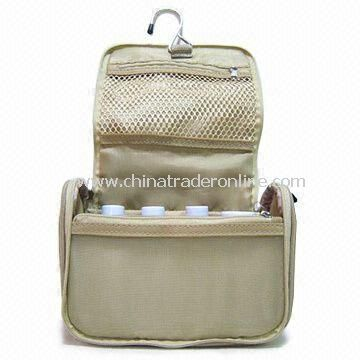 Nylon Travel Kit, Various Colors and Designs are available