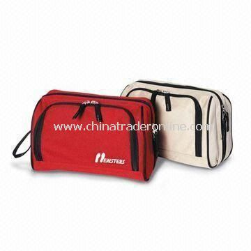 Toiletry bags, Made of 600D/Canvas Fabric Material