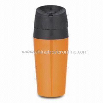 Travel Mug with 450mL and Customized Logos Accepted