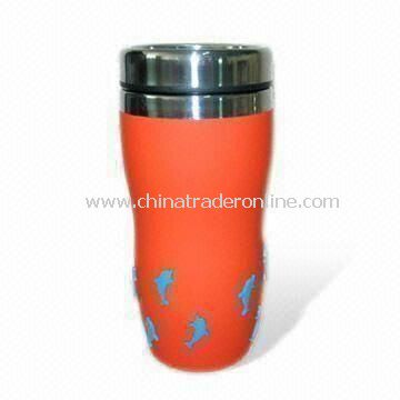 Travel Mug without Plastic Lining, 16oz Capacity