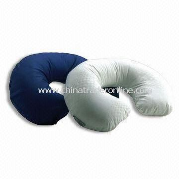 Travel/Neck Pillows with PP Cotton Filling, OEM Orders are Welcome