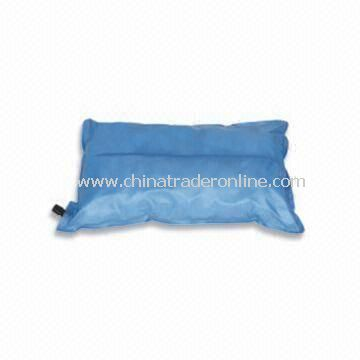 Travel Pillow, Comes in Blue, Measures 50 x 30 x 12cm