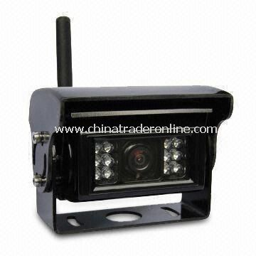 Wireless CCTV Camera with Automatic Motorized Protection Shutter Sun-visor and Auto Heating Function