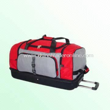 29-inch Rolling Duffel with Compartment for Dirty Clothing
