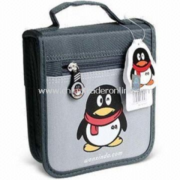 30-piece CD Holder/Bag/Wallet/Disc Carry Case, Customized Designs are Welcome